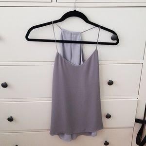 Express Gray Reversible Cami